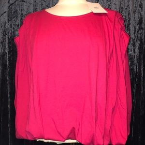 Zara Collection Hot Pink Top